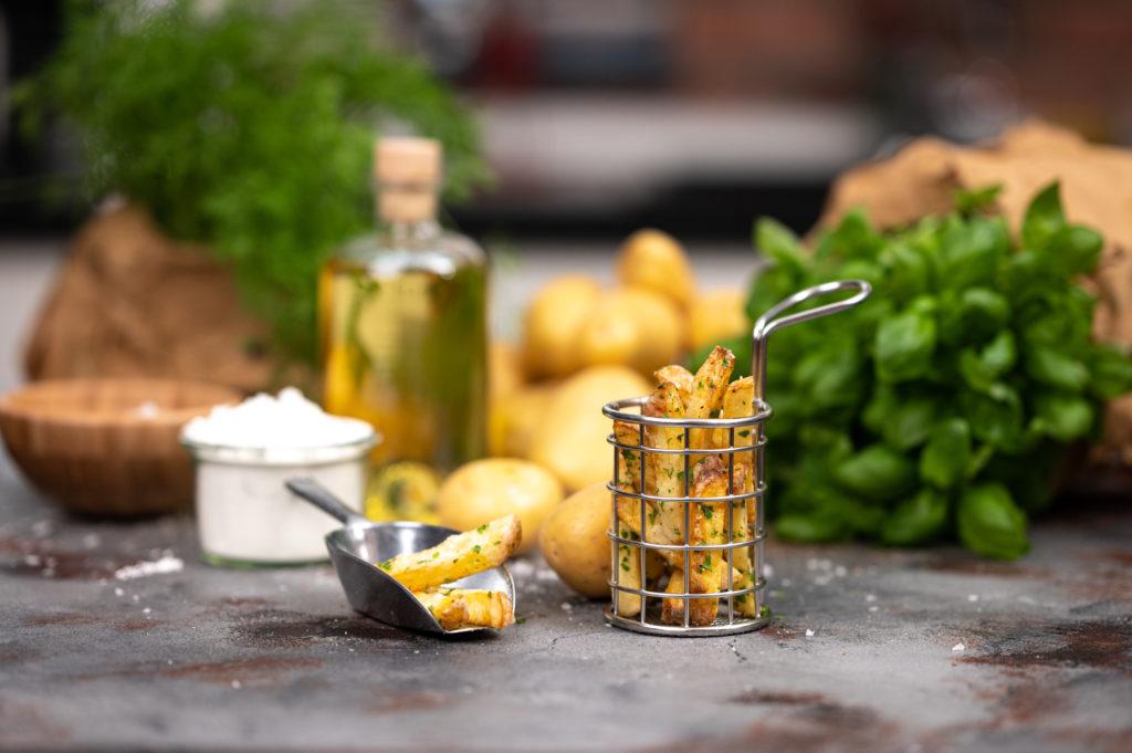 Warenkorb - Pommes selber machen