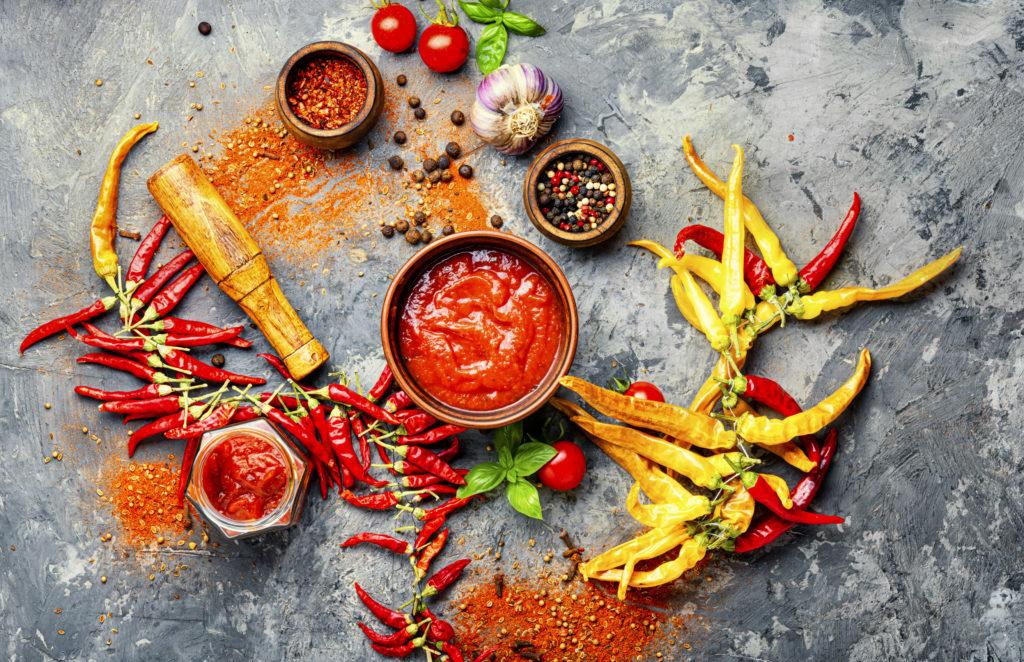 Zutaten für Chili sin Carne