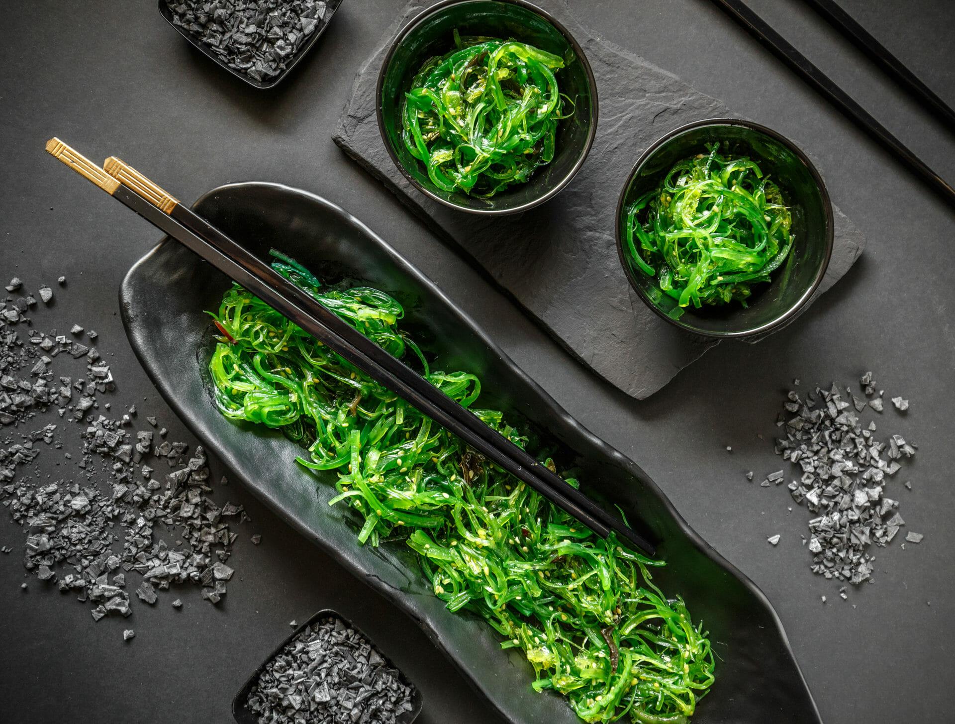 marinierter Wakame Salat