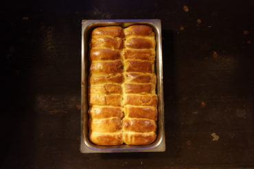 Brioche Milchbrötchen für Burger und Desserts