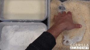 Schnitzel-Panieren