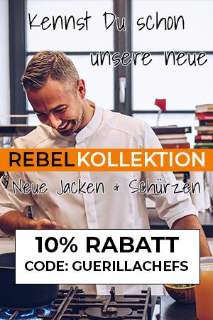 Guerilla Chefs Kochjacke Banner